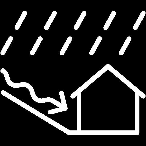 Piktogramm Starkregen