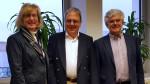 Besuch Oberbürgermeister Thomas Keck bei der SER mit Erster Bürgermeisterin Ulrike Hotz und Betriebsleiter Arno Valin