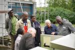 Besuch der Delegation aus der Elfenbeinküste auf dem Klärwerk Nord
