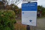 Infotafel Regenüberlaufbecken Am Wieslenbach