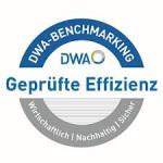 Siegel der Deutschen Vereinigung für Wasserwirtschaft, Abwasser und Abfall e.V. für das DWA-Benchmarking