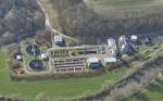Luftbild vom Klärwerk Nord in Oferdingen