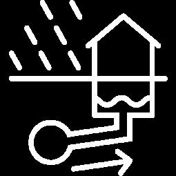Piktogramm Kanalrückstau