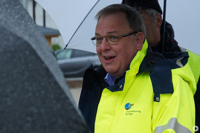 Thomas Keck, Oberbürgermeister der Stadt Reutlingen